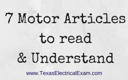 7 Motor Articles to read & Understand