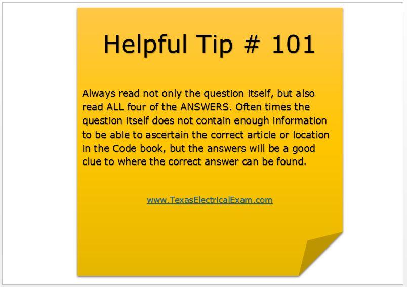 Tip 101