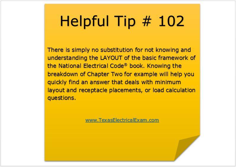 Tip 102