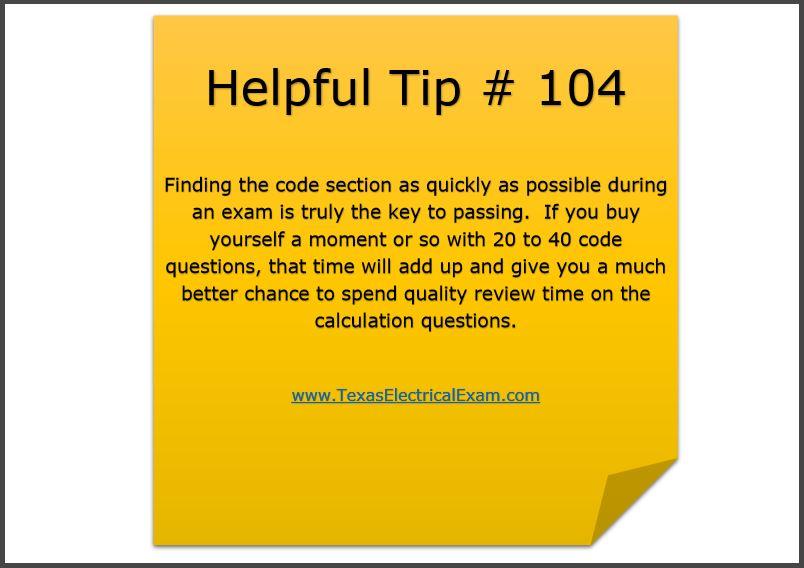 Tip 104
