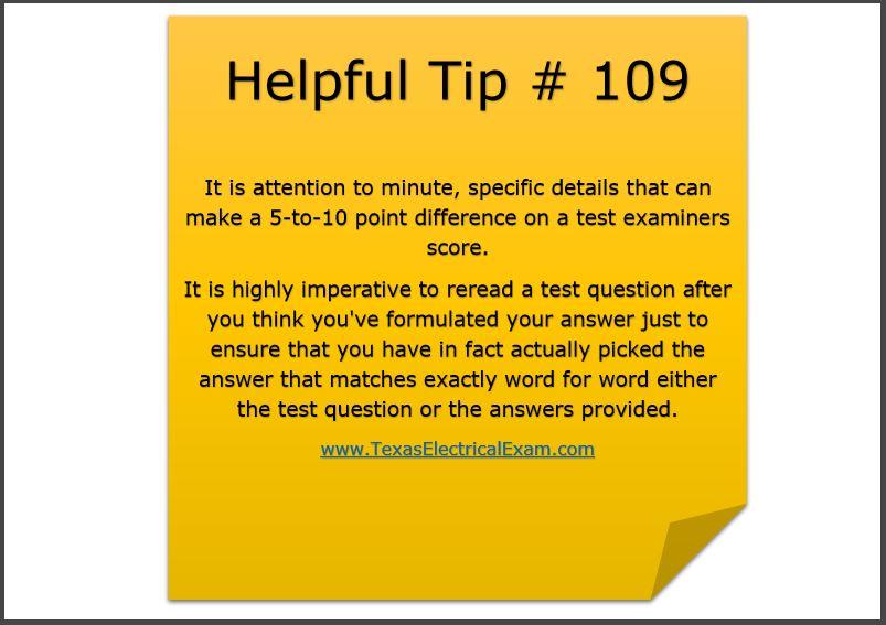 Tip 109