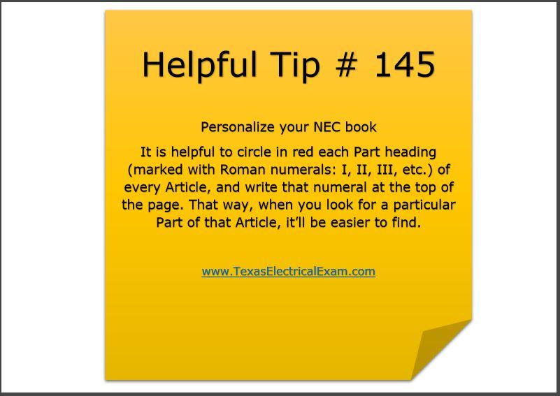 Tip 145