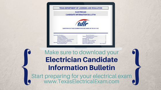 Candidate Information Bulletin for Electricians