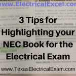 3 Tips for Highlighting your NEC Book