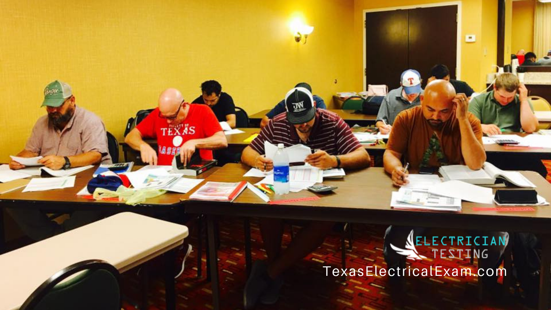 Our students pass the electrical exam