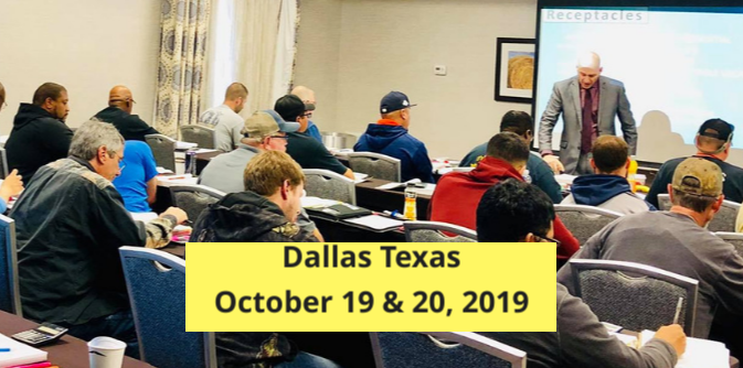 Exam prep seminar in Dallas Tx for the electrical test