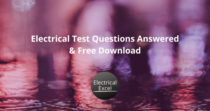 Electrical Test Question