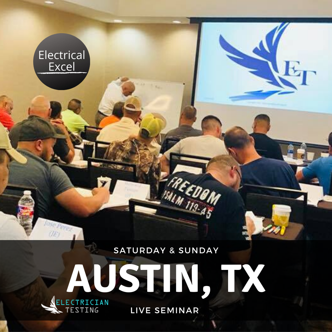 Austin TX Seminar for the PSI Electrical Exam