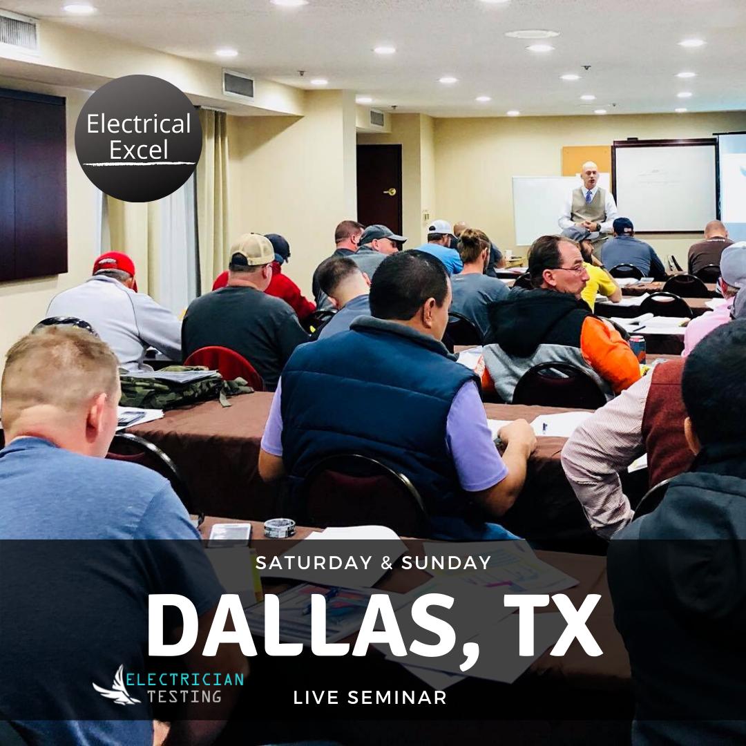 Dallas TX Seminar for the PSI Electrical Exam