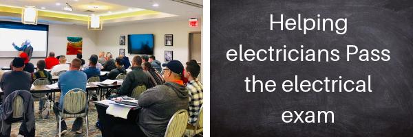 Electrical exam prep seminar