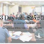electrical exam prep seminar sale ends sept 23